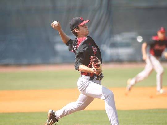 NFC pitcher Cole Ragans is 9-1 on the year with a 1.01 earned-run average.