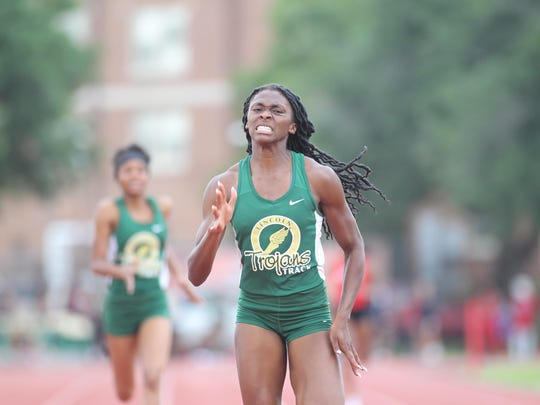 Lincoln senior Tamani Wilson is a favorite to win a state title in the 400 this year and she could also medal in the 200.