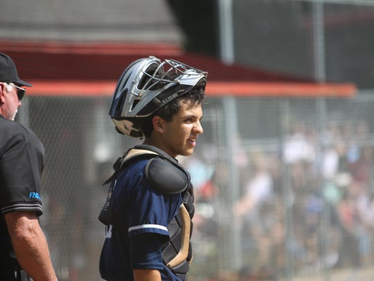 Maclay catcher Matthew Caballero has been a steadying influence behind the plate for the Marauders' pitchers, as well as having a perfect fielding percentage.