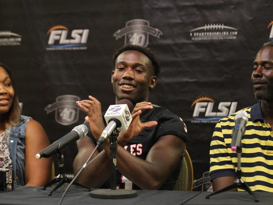 NFC running back Terrell Powell committed to Charleston Southern on Tuesday at 4QuartersOnline Football Media Day.