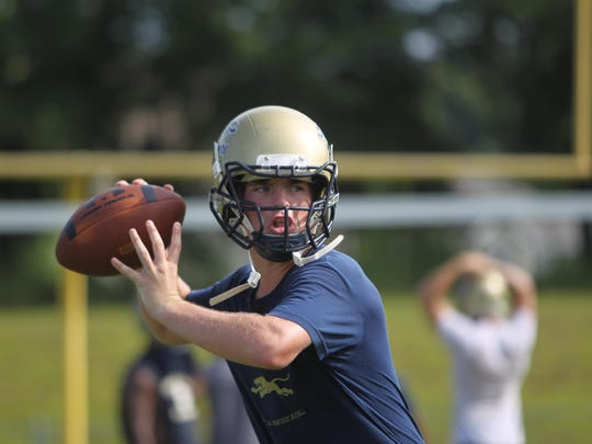 John Paul II junior Brian Woodend returns at quarterback after throwing for over 2,000 yards as a sophomore starter.
