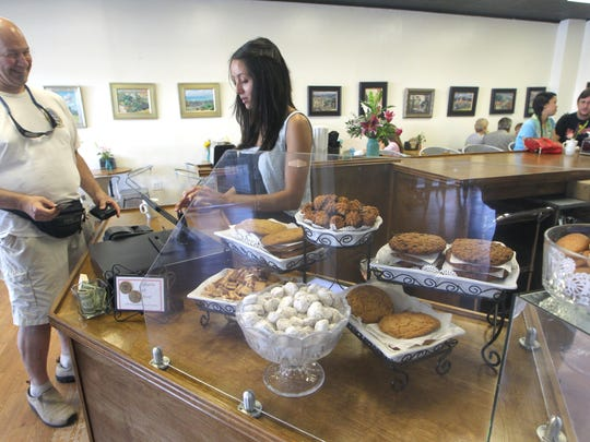 Au Peche Mignon, a French pastry shop in the Market Square shopping plaza, is a staple for those familiar with the Market District, a neighborhood in Tallahassee's north side.