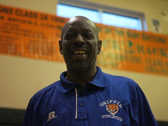 Ron Lang, 58, has been coaching basketball in Tallahassee for over 35 years, with stints at Rickards High, FAMU High, Nims Middle and Griffin Middle. Lang won three state titles with the Rattlers in the 1990's.
