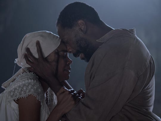 "Gabrielle Union and Colman Domingo in ""The Birth of a Nation."""