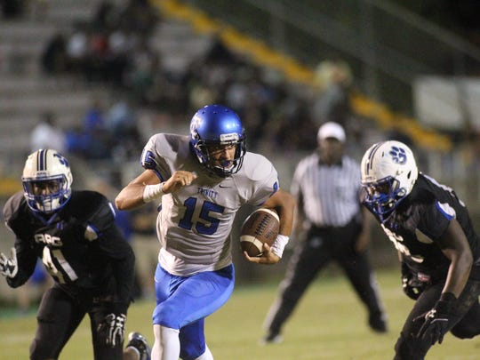 Godby's defense, fortunately, won't have to see Trinity Christian's Legend Brumbaugh, who graduated after helping the Conquerors destroy the Cougars last season.