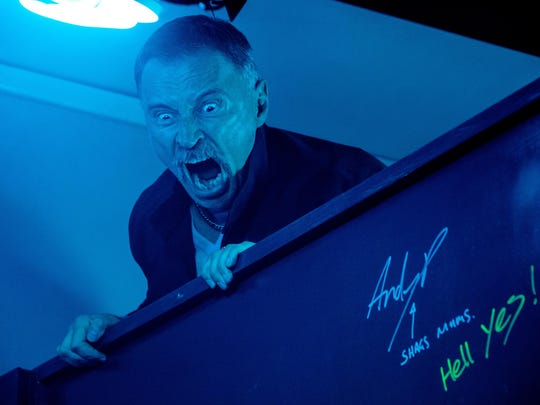 """Robert Carlyle in """"T2: Trainspotting."""""""