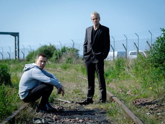 "Ewan McGregor and Jonny Lee Miller in ""T2: Trainspotting."""