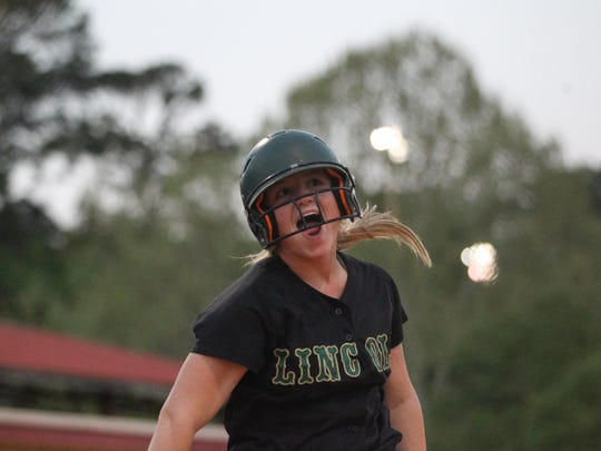 Energy wasn't lacking for the Lincoln softball team during a 22-5 district win at Leon on Tuesday night.