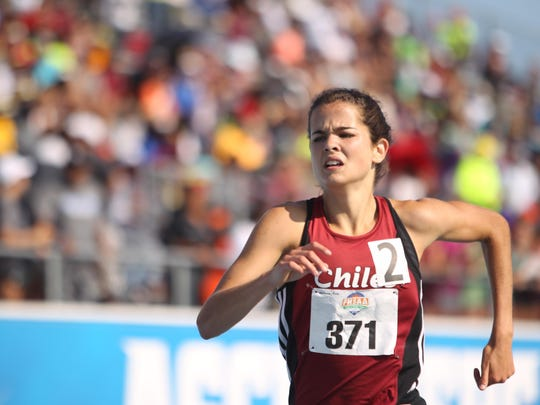 Chiles junior Ana Wallace has a shot at finishing in the top three in the state in both the 1600- and 3200-meter runs.