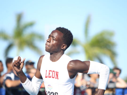 Leon senior Leander Forbes will have a fierce battle in the 400 with Miami Norland sophomore Tyrese Cooper, one of the fastest runners in the nation.