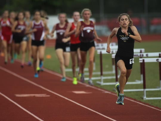 Lincoln freshman Alyson Churchill will try to turn her 3A leading time in the 3200 into a gold medal during Friday's state track meet. She's also second in the 1600.