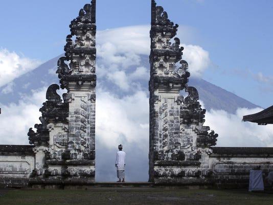 APTOPIX Indonesia Bali Volcano