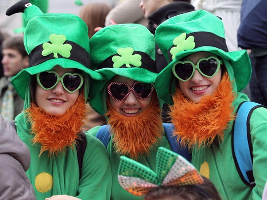 Dress in green and join the fun on Fountain Square Saturday.