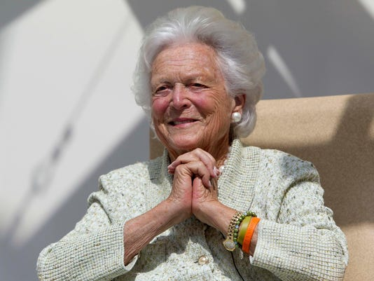 AP BARBARA BUSH A FILE USA ME