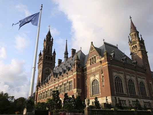 Netherlands World Court Iran US