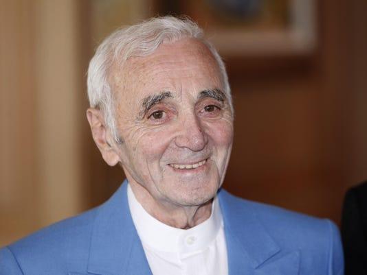 France Obit Aznavour