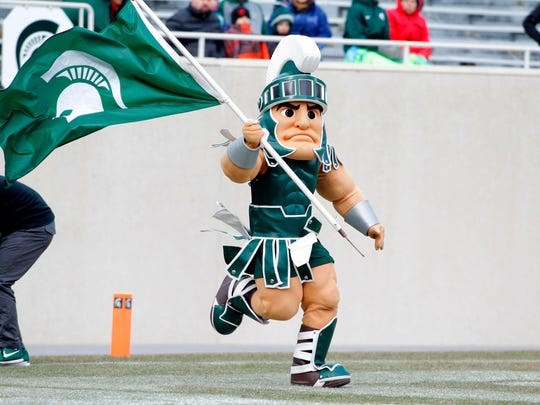 Michigan State University's Sparty mascot will no longer participate in parades after university officials raised concerns about student safety.