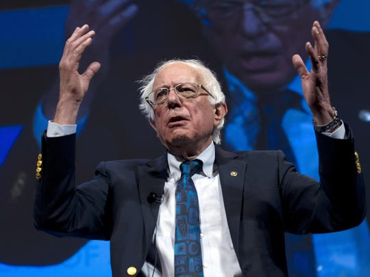 Bernie Sanders, U.S. senator from Vermont and self-avowed democratic socialist, is set to hold a rally at Macomb Community College in Warren on April 13.