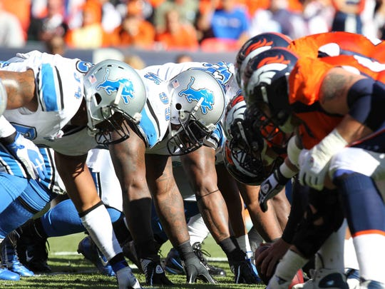 The Lions and Broncos face off this Sunday in Denver for the penultimate game of the regular season.
