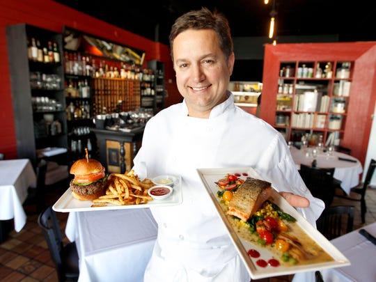 Chef Enosh Kelley of Bistro Montage, 2724 Ingersoll