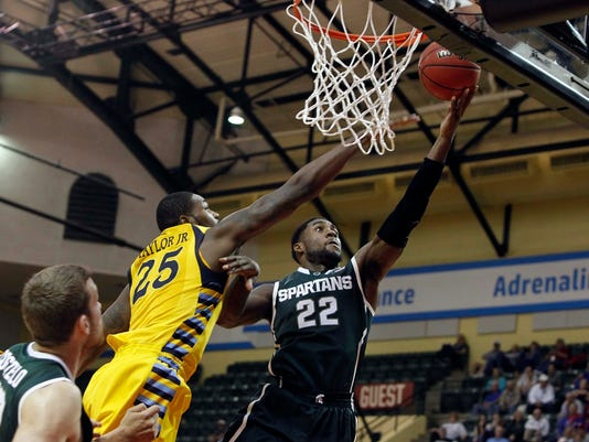 NCAA Basketball: Orlando Classic-Michigan State at Marquette