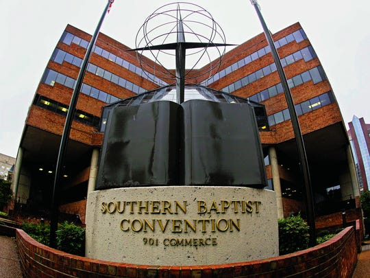 The Southern Baptist Convention headquarters in downtown