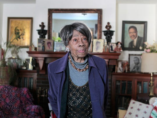 Vernice Warfield recently turned 100. Last summer, she mowed her own lawn. Then, once again, she successfully passed the written and road test for her driver's license.