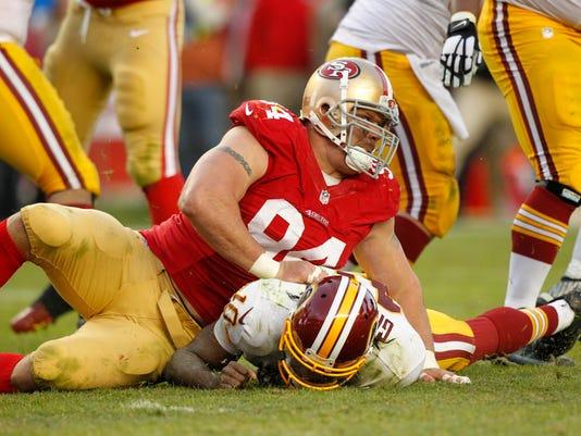 NFL: Washington Redskins at San Francisco 49ers