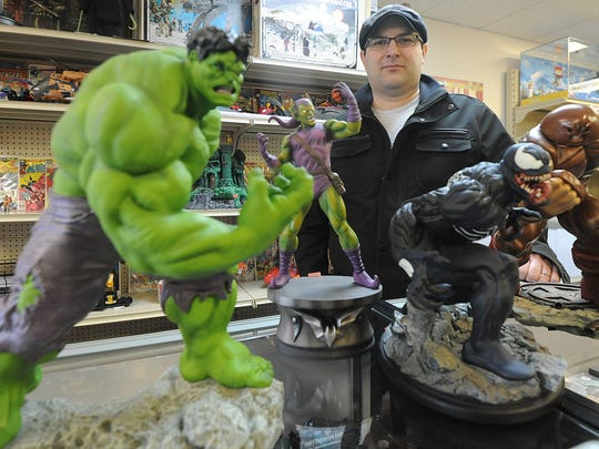 Tony Cambarare owns Toy Hunters On Park Avenue West.