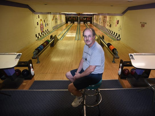 Terry Bicksler, owner of the Fredericksburg Bowling