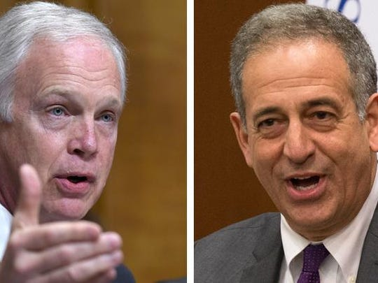 U.S. Sen. Ron Johnson (left) and his challenger, former U.S. Sen. Russ Feingold.