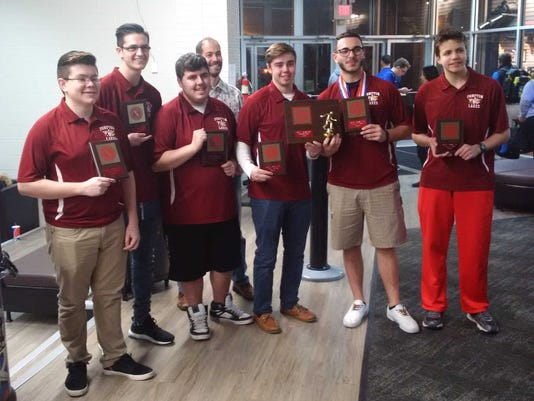 2017 Passaic County boys bowling champion Pompton Lakes