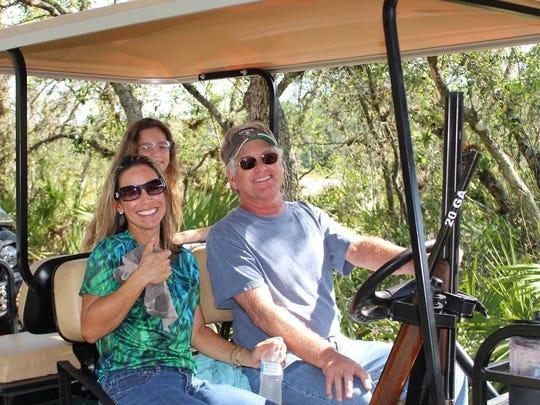 Sonja, Savanna and Dr. Mark Taylor at Quail Creek Plantation