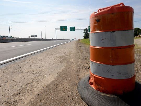 Delta Contracting Company has repaved a portion of the U.S. 45 Bypass over Vann Drive and I-40.