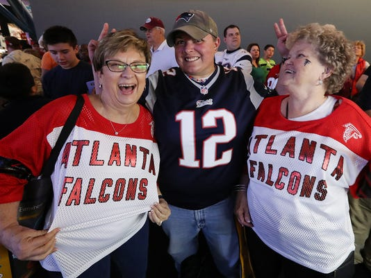 Atlanta Falcons fans ready for Super Bowl