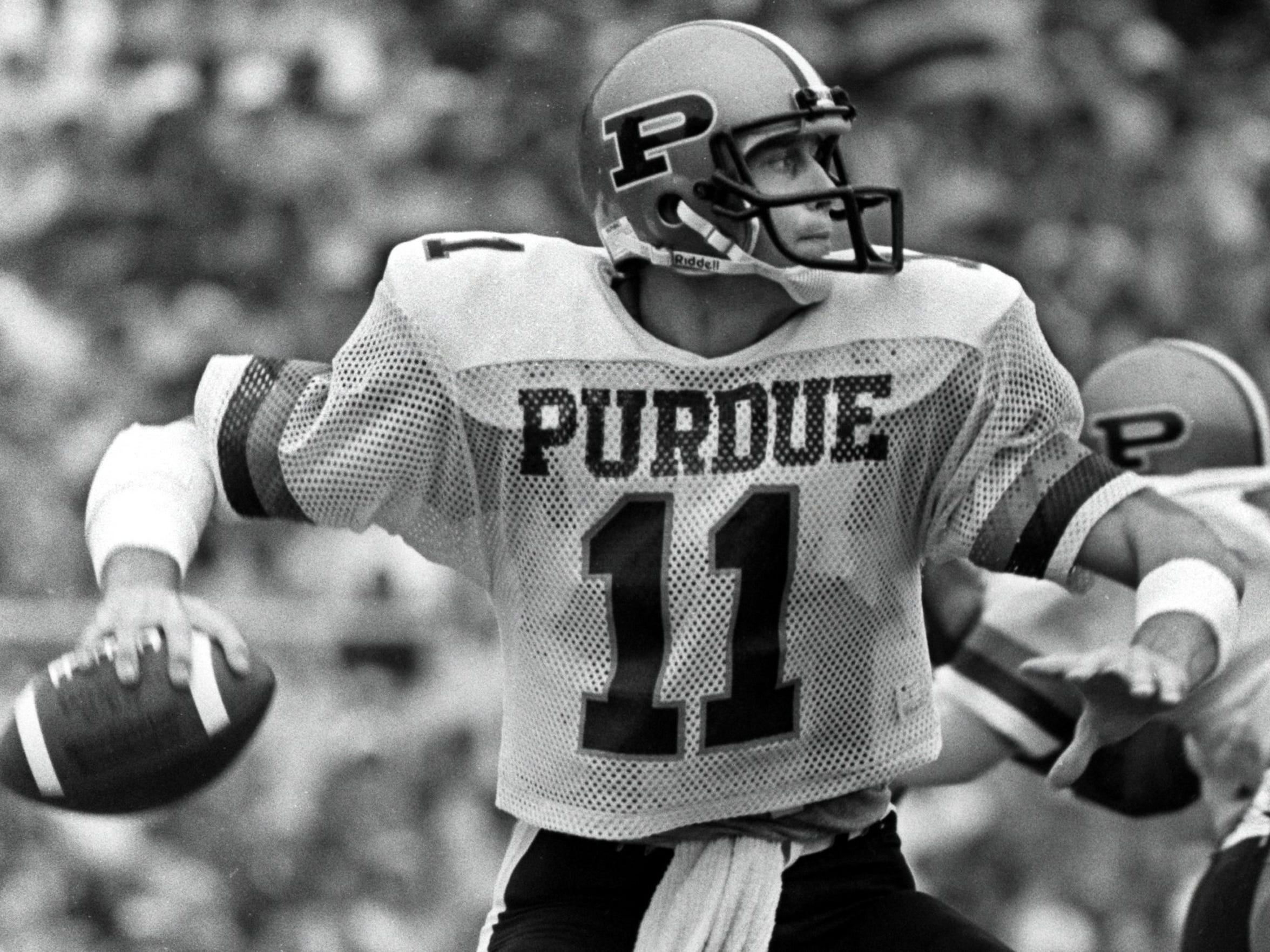 finest selection 3bfe9 9e29e Thompson: Purdue football Who Wore It Best Nos. 11-15