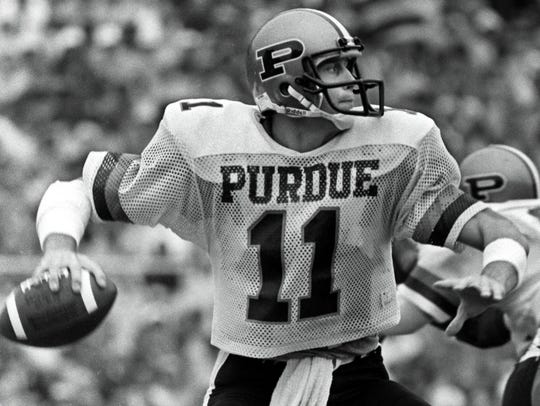 Purdue quarterback Jim Everett would go on to an All-Pro