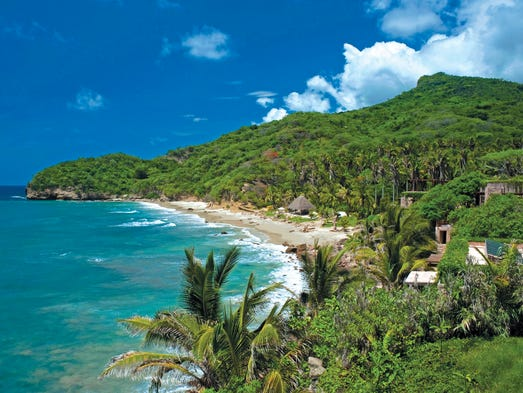 Riviera Nayarit stretches along 192 miles of Mexico's