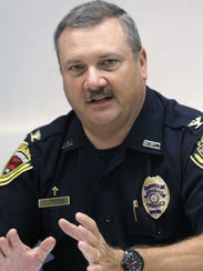 Springfield Police Chief Paul Williams in an undated photo.