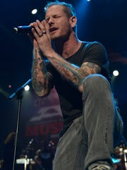 Iowan Corey Taylor performs at the Journeys AP Music