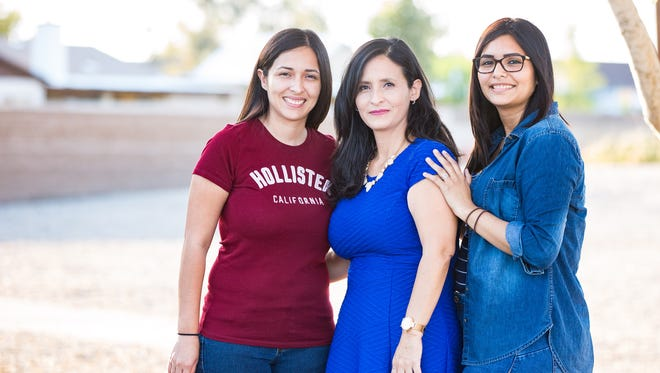 After marrying at the age of 15, Maria Ramirez followed in her daughters' footsteps by graduating from Arizona State in May.