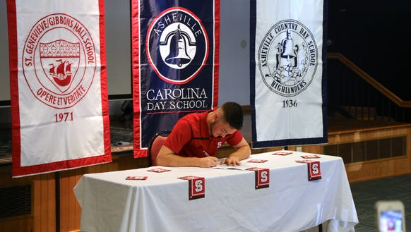 Mac Gourlay has signed to play college soccer for N.C.