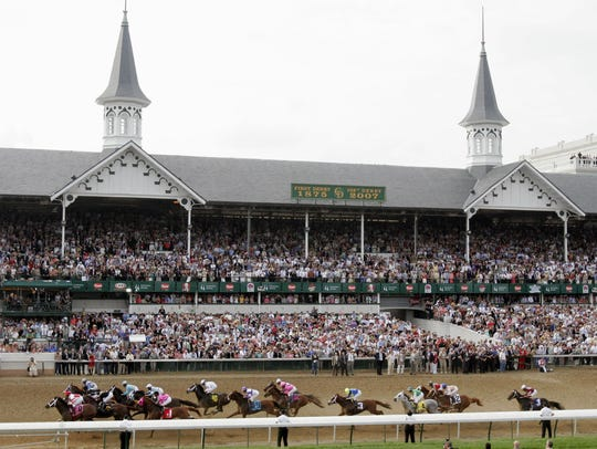 Churchill Downs Inc. reported that its signature racetrack