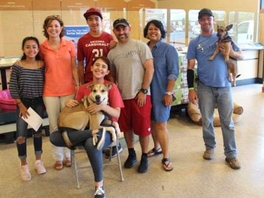 Donations to Safe Haven Animal Sanctuary were presented at PetSmart on Saturday, July 28. Donations were accepted by Cass Walker, sanctuary manager, and Laura O'Connor, executive director.