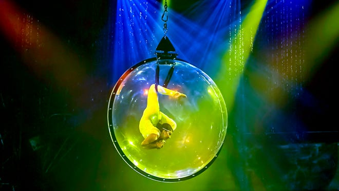 Contortionists in a bubble will be on of several spectacular feats achieved by the performers of Cirque Italia, a unique traveling circus visiting Las Cruces May 10-13.