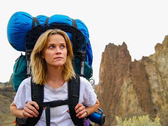 Reese Witherspoon hikes the Pacific Crest Trail in