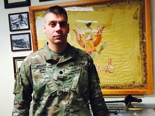 Lt. Col. E. Dave Wright is the new commander of the 1st Squadron, 1st Cavalry Regiment at Fort Bliss. The Blackhawks are the oldest cavalry unit in the Army.