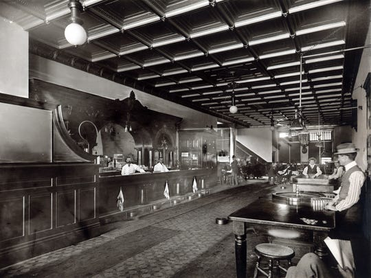 When the rebuilt Palace Saloon opened in 1901,  it was the most opulent drinking establishment on Whiskey, if not in all of Prescott.