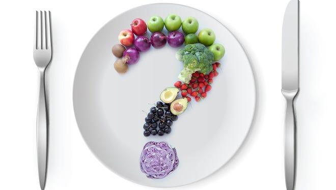 Veggies on a plate