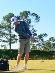 FSU golfer Harry Ellis picked up his first club when he was just 18-months-old.